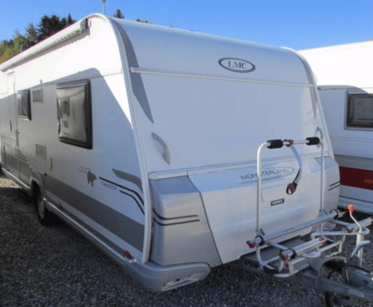 Wohnwagenkauf - LMC 570 K Cello Arctic beim Wohnwagen Händler auf dem Stellplatz zum Verkauf