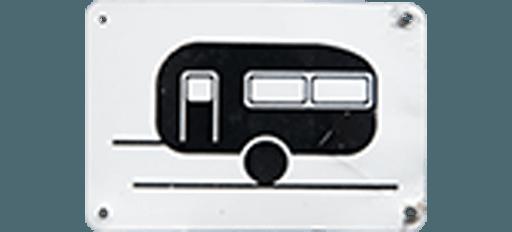 Wohnwagen Schild Logo von MYSAMLLHOUSE.de