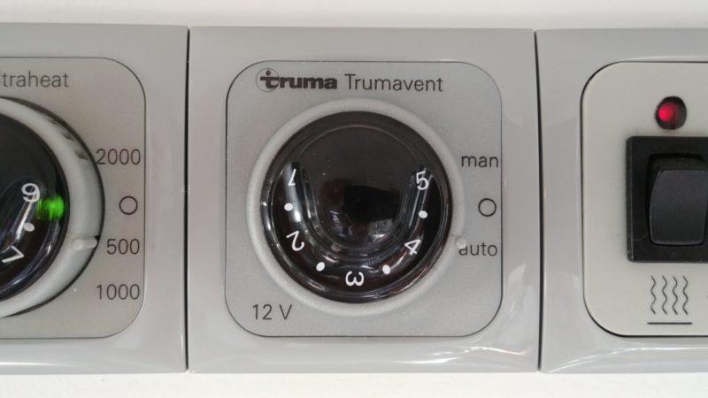 Truma Trumavent 12V Bedienpanel für Truma Gebläse TEB