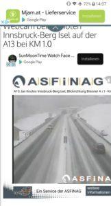 mysmallhouse.de wohnwagen camper umbau diy reisen wintercamping brenner autobahn schneefall