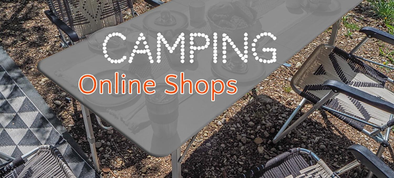 Die besten Camping Online Shops für Camper - Übersicht Vergleich Preisvergleich Tipps Camping Bedarf - MYSMALLHOUSE.de