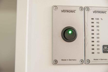 Hauptschalter für die Bluetooth Sound Anlage im Wohnwagen