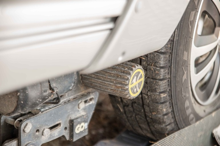 Truma GO2 Wohnwagen Mover mit Reifen