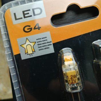LED Leuchtmittel G4 2700k