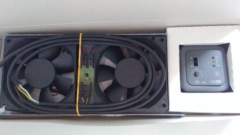 CBE Kühlschrank Zusatz Lüfter in OVP