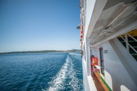 Fährüberfahrt nach La Maddalena