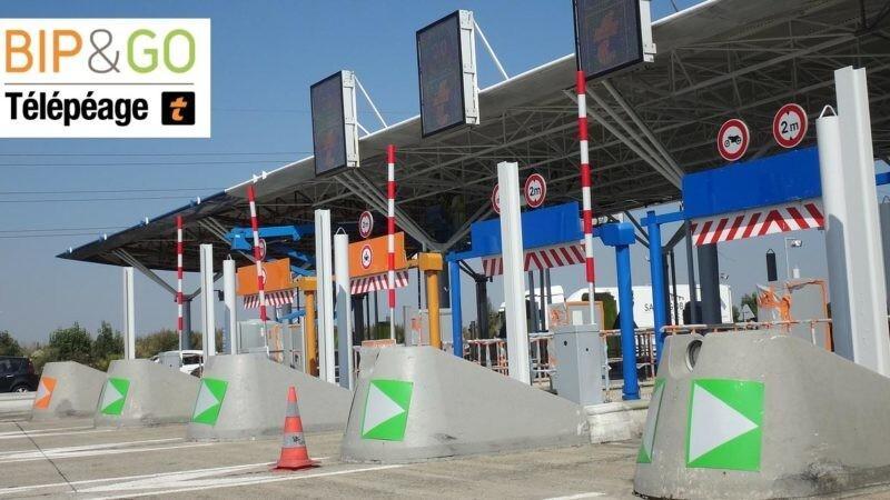 Wohnwagen Gespann elektronische Maut Camper Urlaub Italien Frankreich Spanien Portugal Telepeage Autobahn Maut Box Zahlstelle Mautstation