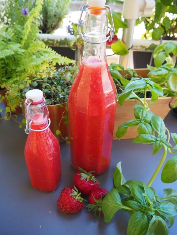 mysmallhouse.de erdbeerlimes rezept erdbeeren camping