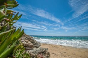 Nähe Saint Tropez - Felsenküste, türkises Wasser und Algarven