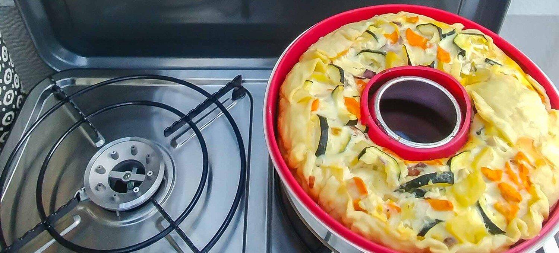 Food Quiche Wohnwagen kochen Campingküche Rezept Rezeptvorschlag Tipp lecker schnell