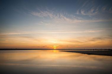 Atlantik Soorts-Hossegor Sonnenuntergang Sommer Camping Urlaub