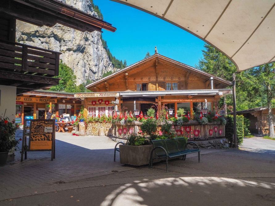 Campingplatz Jungfrau Holiday Park Schweiz das Restaurant
