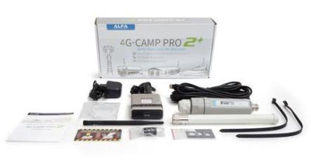 4G LTE Alfa Networks Camp Pro 2+ Set zum Wohnwagen Technik Einbau