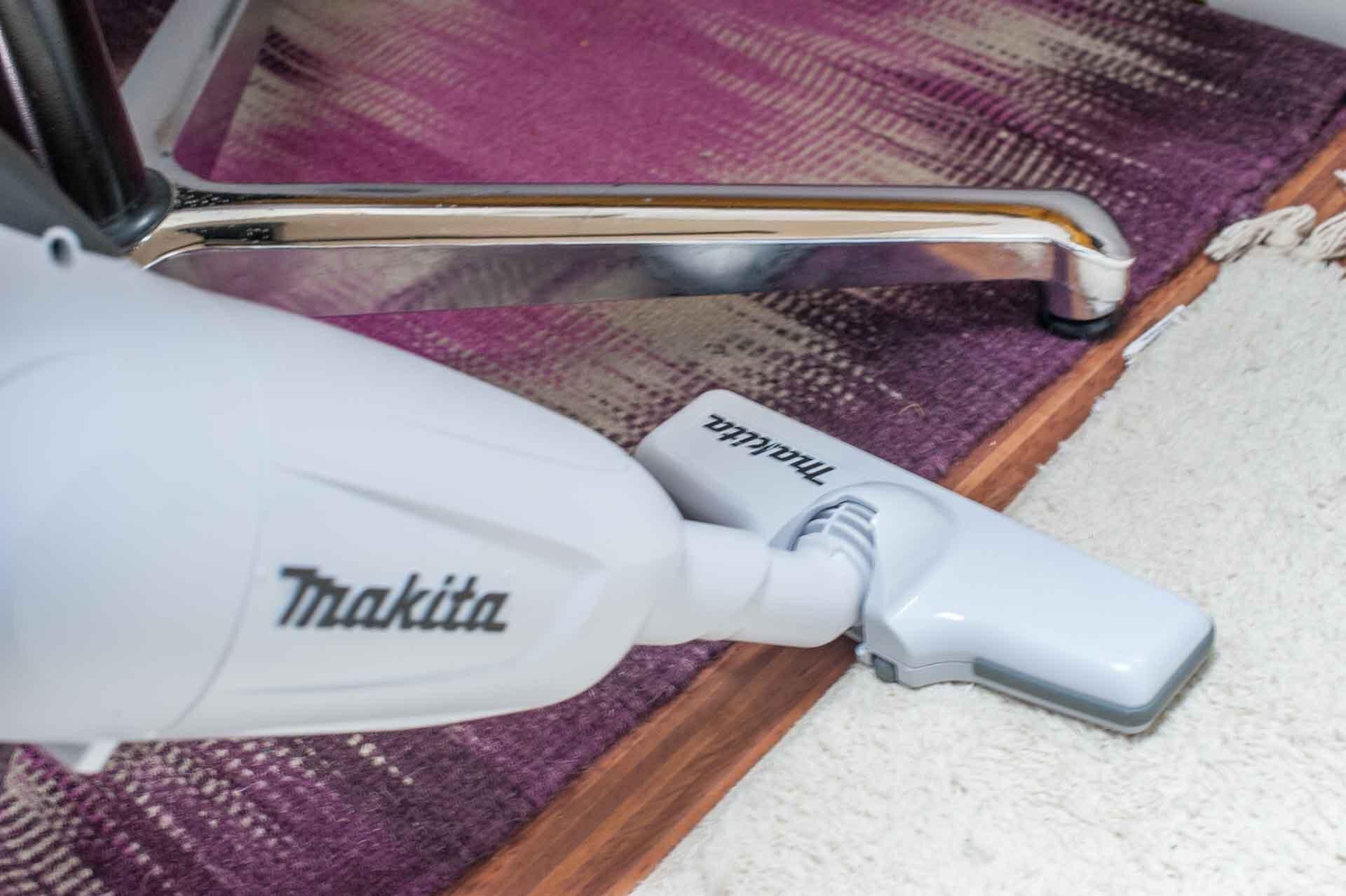 mysmallhouse.de Quick Tipps Akku Staubsauger Makita 18v weiss wohnwagen saugen putzen reinigen