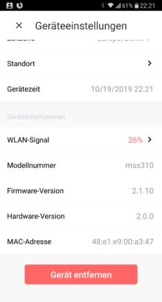 Wohnwagen Heizung fernsteuern mit APP Smart WLAN Plug Steckdose Android Apple Bedieneroberfläche