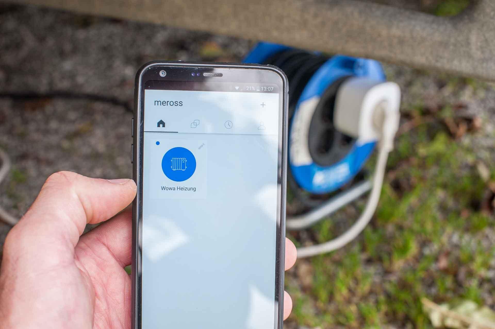 mysmallhouse.de Wohnwagen Heizung fernsteuern mit APP Smart WLAN Plug Steckdose Android Apple