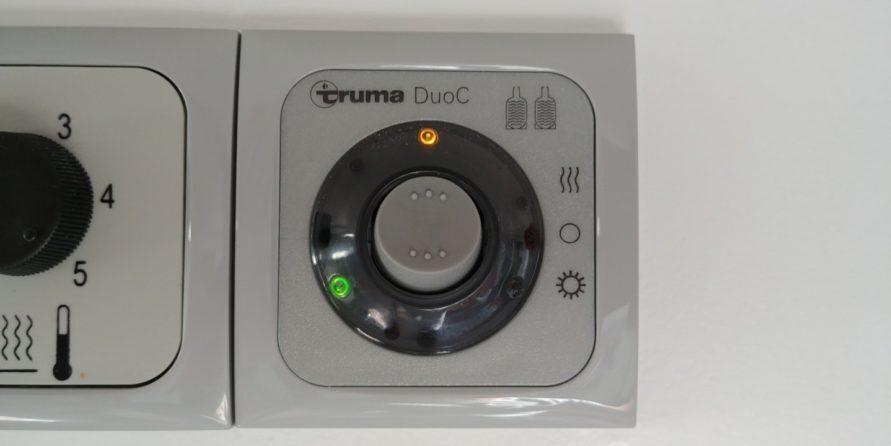 Truma Bedienteil der DuoControl CS Gasflaschen Umschaltung für de Winterbetrieb
