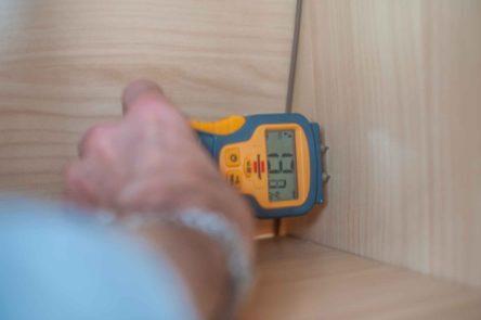 Brennstuhl Feuchtigkeitsmessgerät für Wohnwagen Dichtigkeitsprüfung Holz Feuchtigkeit Dachhaube