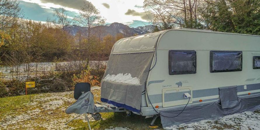 Fernüberwachung Wohnwagen IP Web Cam Sicherheit Stellplatz Camping Live Video Winter Stellplatz