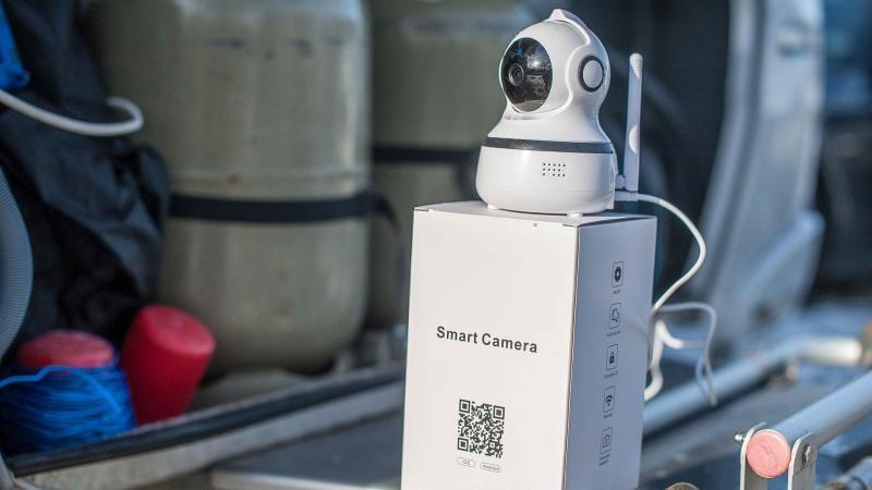 Fernüberwachung Wohnwagen IP Web Cam Sicherheit Stellplatz Camping Live Video