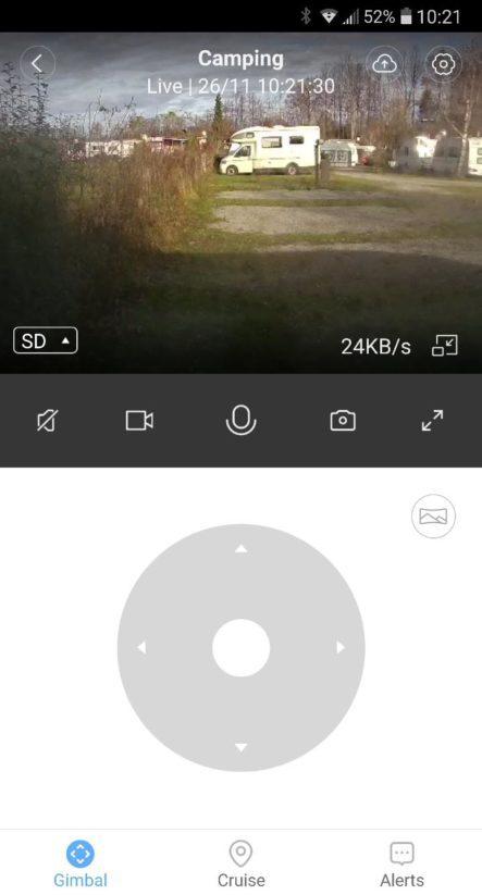 Fernüberwachung Wohnwagen IP Web Cam Sicherheit Stellplatz Camping Live Video Installation APP Software