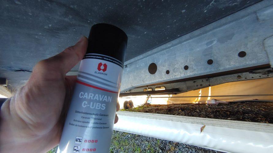 Elaskon Caravan/Wohnwagen Unterbodenschutz C-UBS Wohnwagen Unterboden Schaden Schutz erneuern reparieren ausbessern konservieren Holz Nässe - MYSMALLHOUSE.de