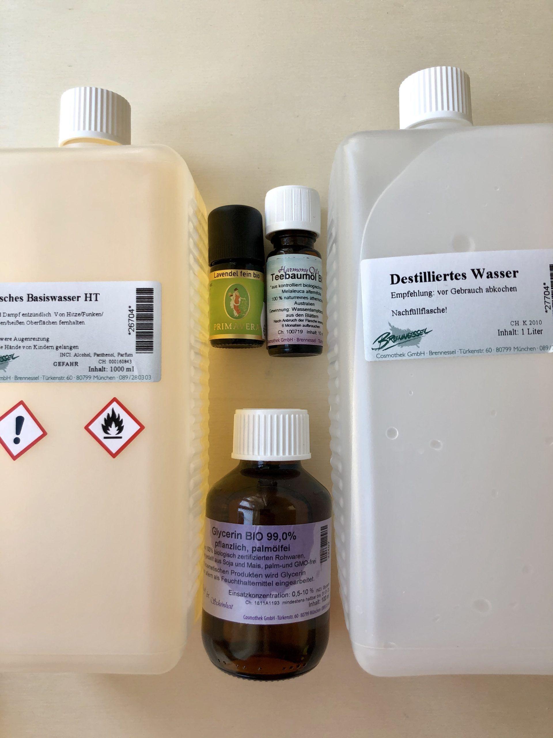 Desinfektionsmittel selbstgemacht mysmallhouse.de