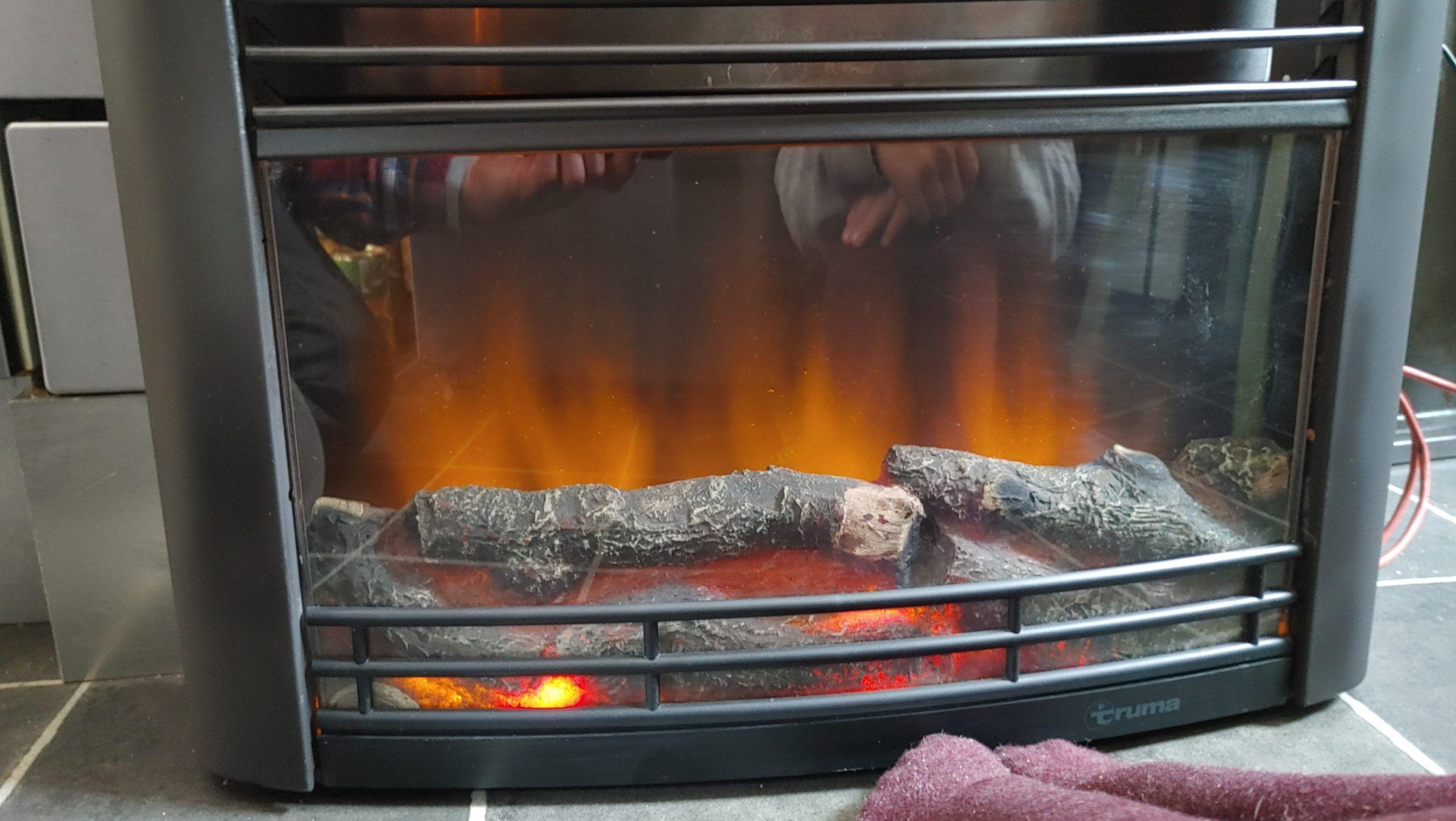 Truma Kaminfeuer Verkleidung Flammenbild