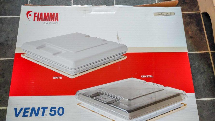 neue Fiamma Vent 50 Austausch klarglas Dachhaube