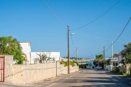 Straße durch Ugento - Hinterland von Salento