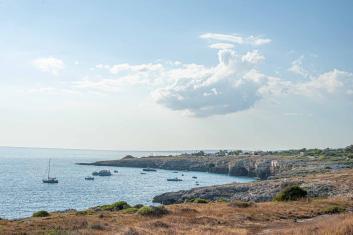 Küstenstadt in Apulien am Meer - Hinterland von Salento