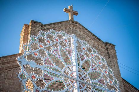 Kirche mit Schmuck in Santa Maria di Leuca - Hinterland von Salento