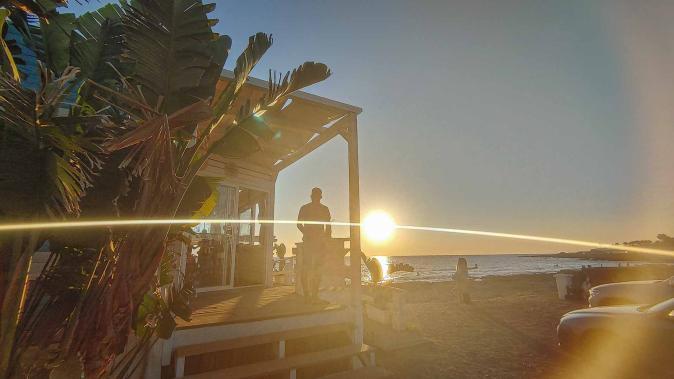 Bar im Sonnenuntergang - Hinterland von Salento