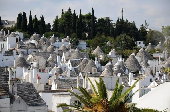 Trulli Häuser in Alberobello - Hinderland von Salento