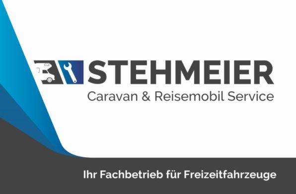 Caravan Service Stehmeier - Fachwerkstatt für Freizeitfahrzeuge - Visitenkarte Vorderseite